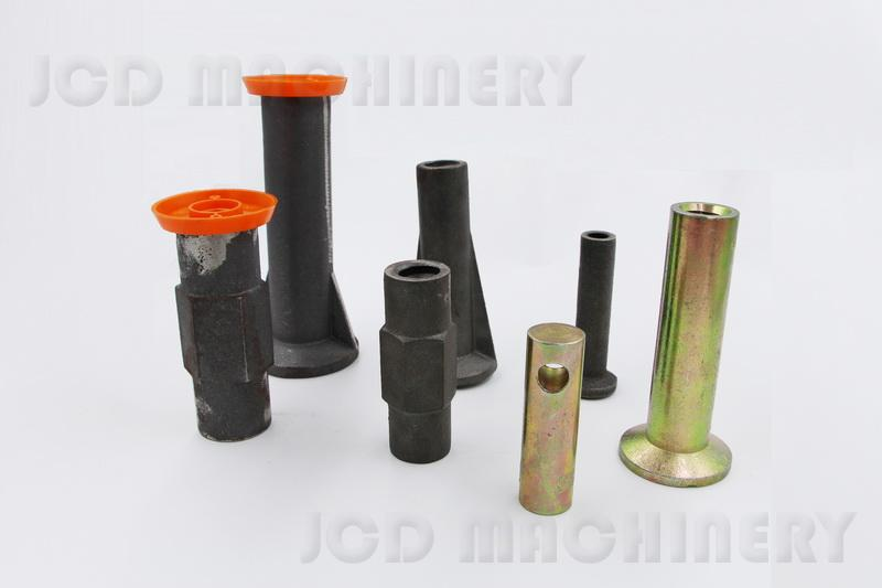 Sand casting threadbar coupler&insert